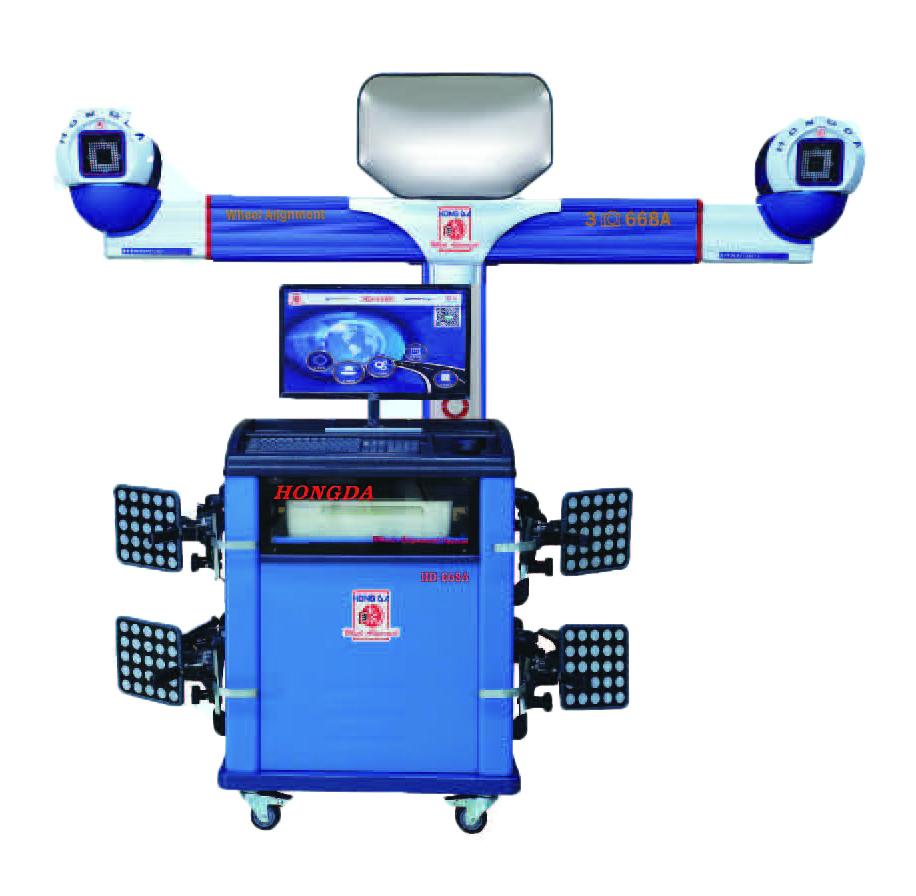 HD-668A三相机固定式标准型四轮定位仪