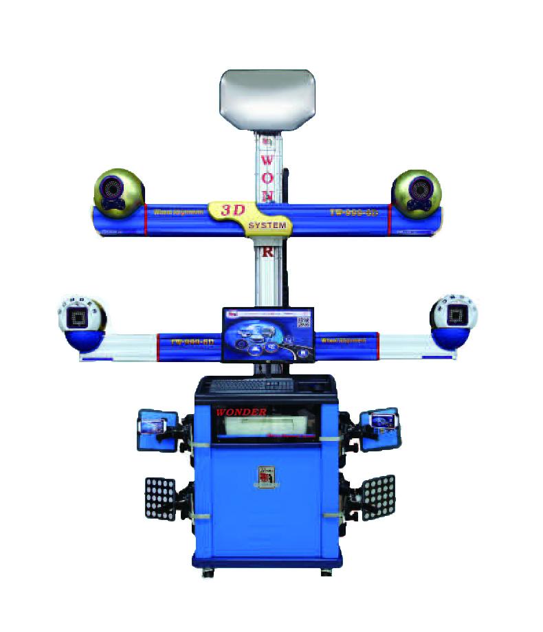 TW-999-6D六镜头旗舰型四轮定位仪